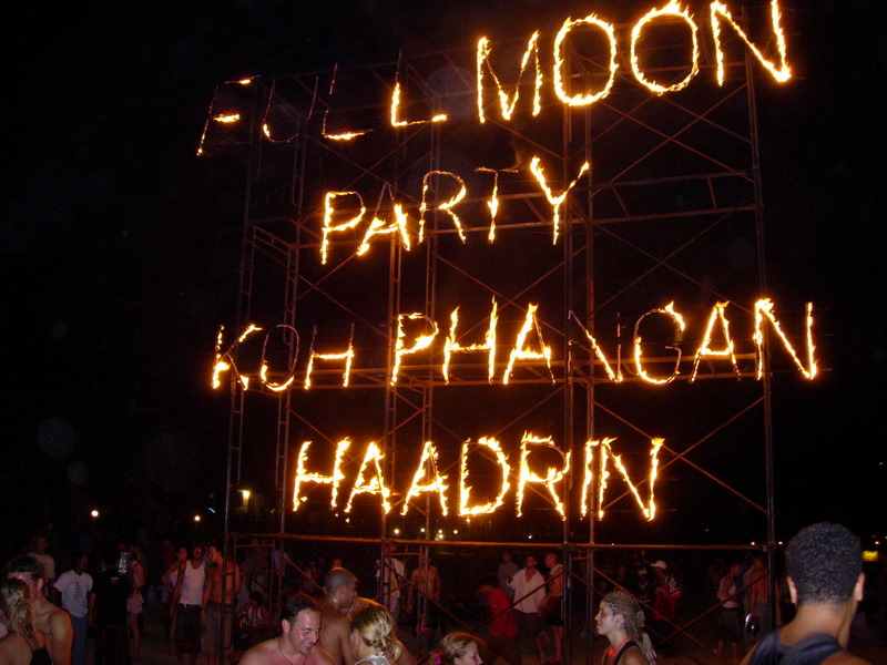 Full Moon Party Haad Rin