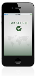 Pakkeliste til iPhone
